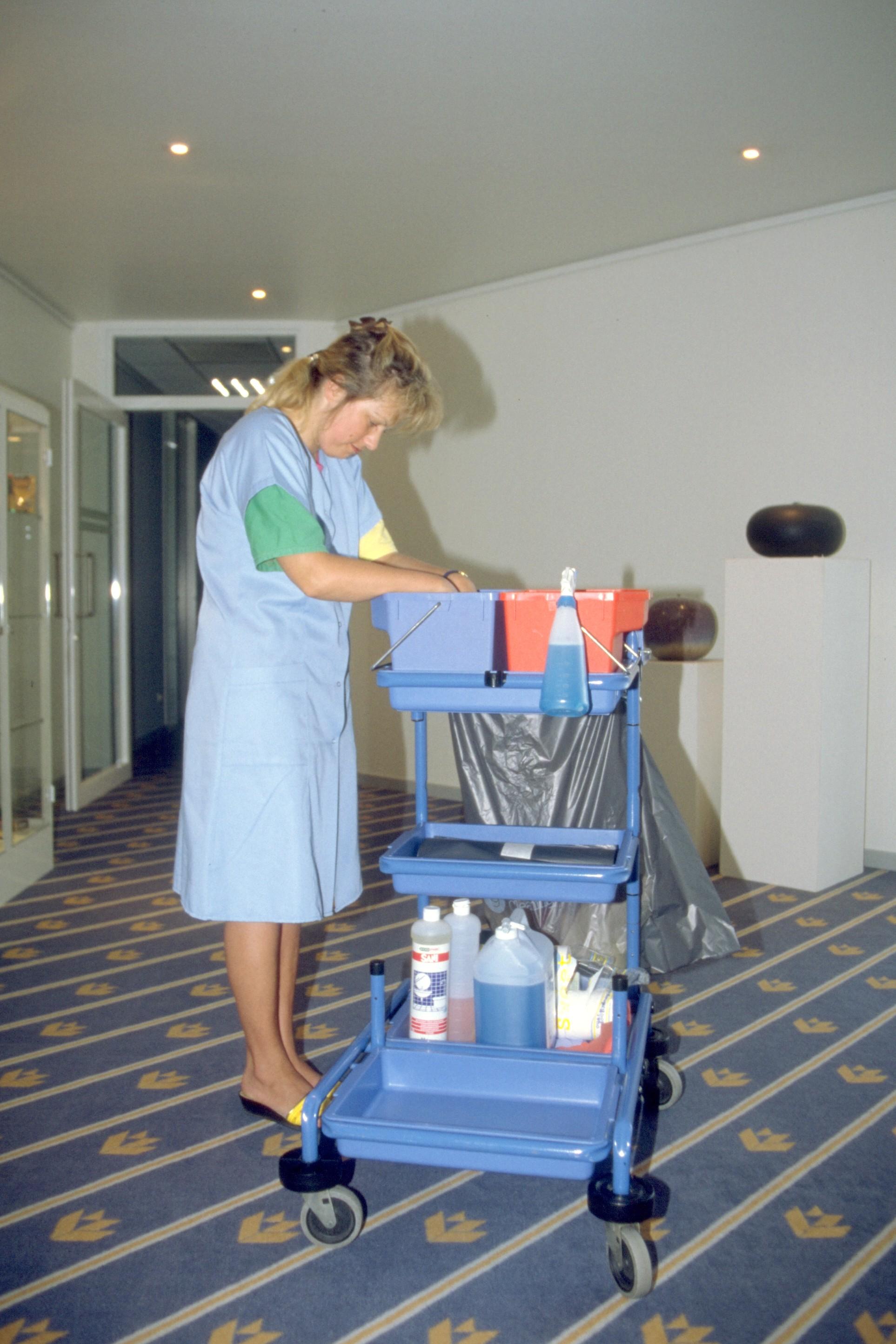 Vacature poetsvrouw in rusthuis